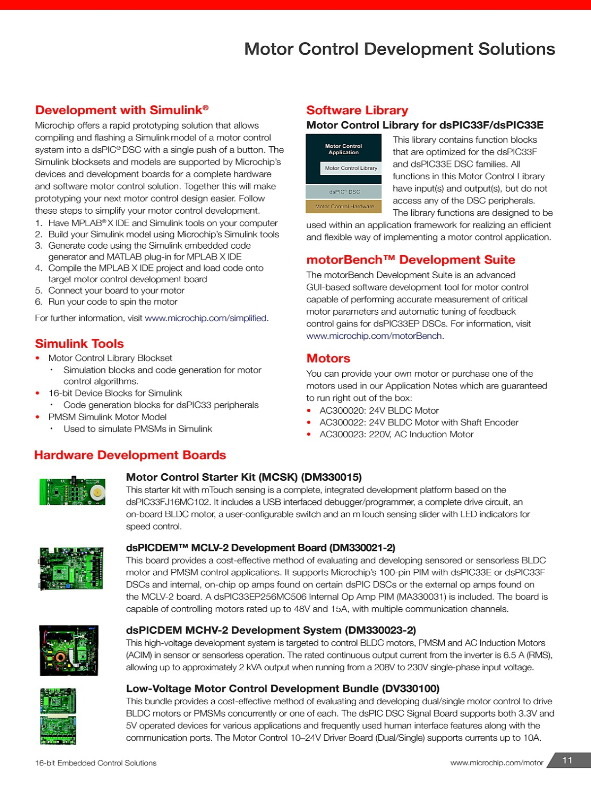 MYEBOOK - Microchip - 16-bit Embedded Control Solutions