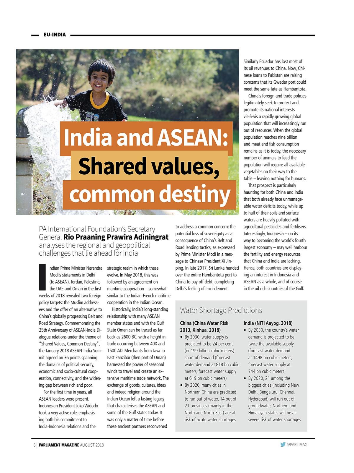 MYEBOOK - EU-India supplement   August 2018