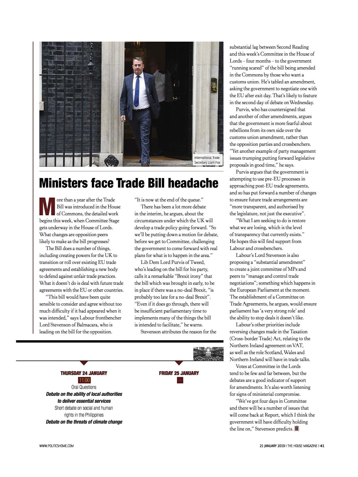 MYEBOOK - The House Magazine Issue 1638 - 21 January 2019
