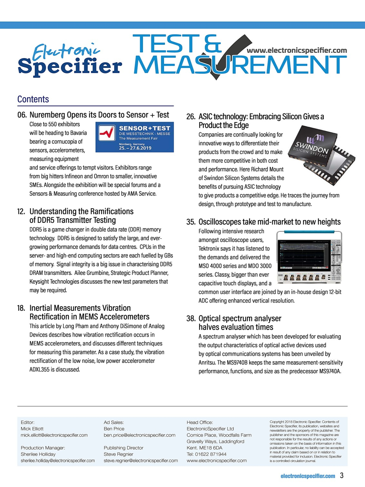 MYEBOOK - Test and measurement Issue 2 2019 Sensor+Test
