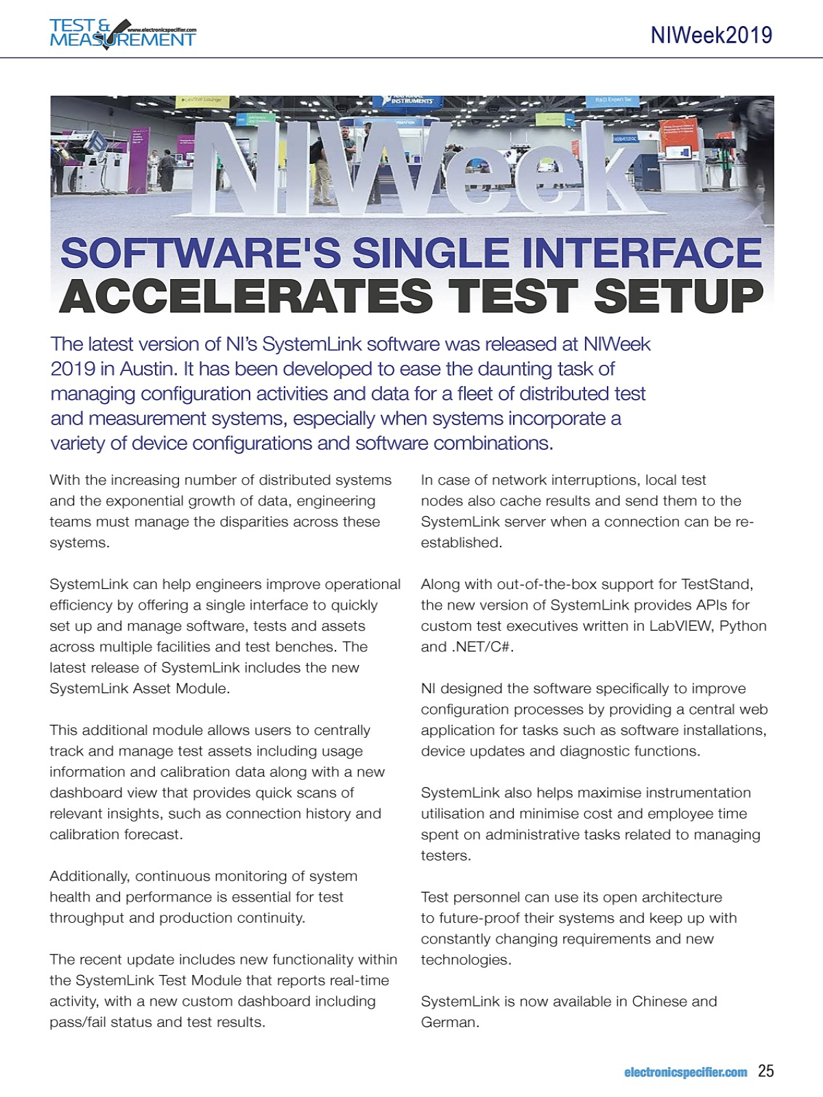 MYEBOOK - Test and measurement Issue 2 2019 Sensor+Test Supplement